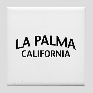 La Palma California Tile Coaster
