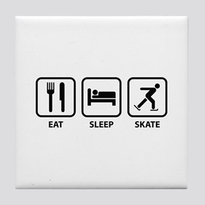 Eat Sleep Skate Tile Coaster