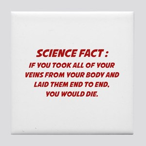 Science Fact Tile Coaster