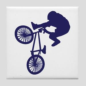 BMX Biker Tile Coaster