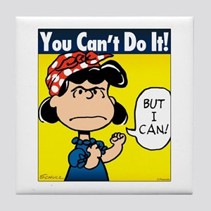 Lucy the Riveter Tile Coaster