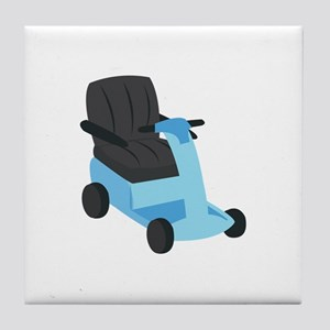 Scooter Tile Coaster