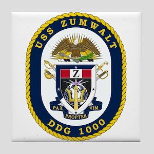 Uss Zumwalt Ddg-1000 Tile Coaster