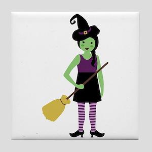 Magic Witch Tile Coaster