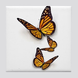 Monarch Butterlies Tile Coaster