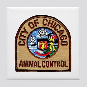 Chicago Animal Control Tile Coaster