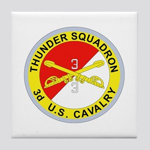 DUI - 3rd Squadron - 3rd ACR Tile Coaster