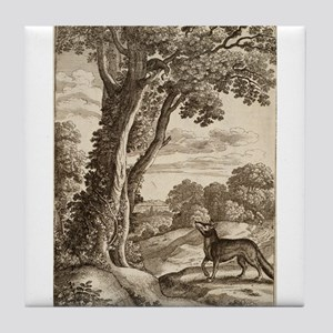 Wenceslas_Hollar_-_Fox_and_crow - Aesop - Circa 1