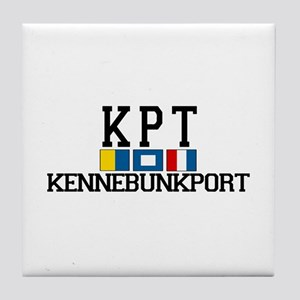 Kennebunkport ME - Varsity Design. Tile Coaster