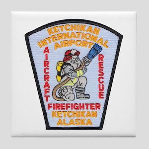 Ketchikan Airport Fire Tile Coaster
