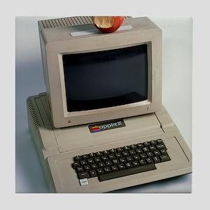 Apple II computer Tile Coaster
