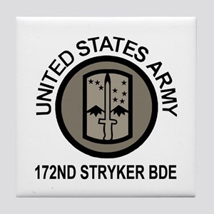 172nd Stryker Brigade <BR>Tile Coaster