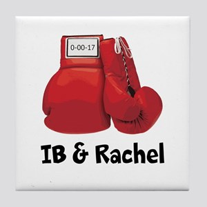 Boxing Gloves Tile Coaster