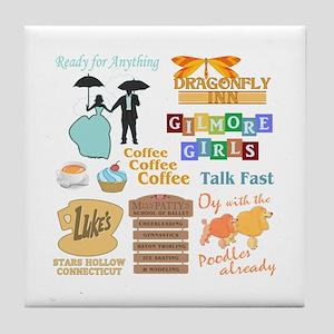 Gilmore Girls Tile Coaster