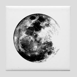 Full Moon Tile Coaster