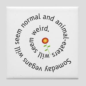 Normal vegan Tile Coaster