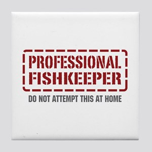 Professional Fishkeeper Tile Coaster