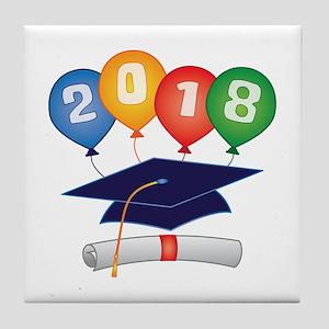 2018 Grad Tile Coaster