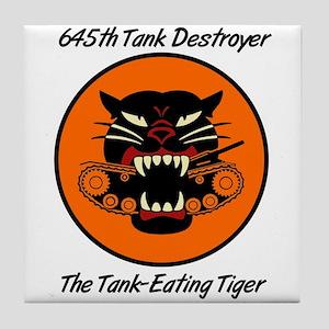 645th Tank Destroyer Tile Coaster