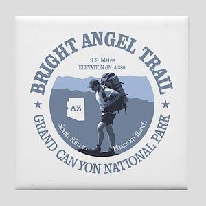 Bright Angel (rd) Tile Coaster