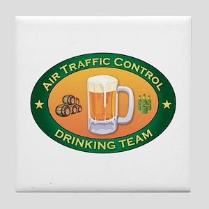 Air Traffic Control Team Tile Coaster