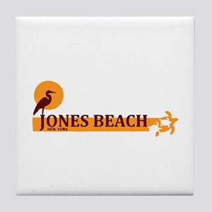 Jones Beach - New York. Tile Coaster