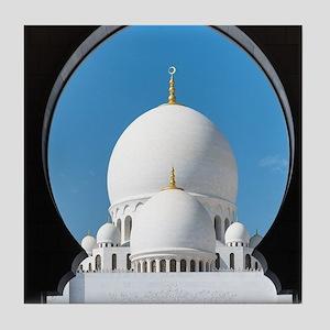 Sheikh Zayed Mosque Tile Coaster