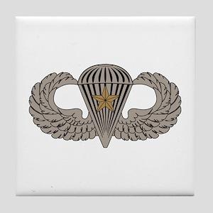 Combat Parachutist 1st awd basic Tile Coaster