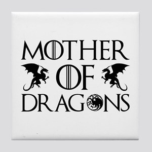 Mother Of Dragons Tile Coaster