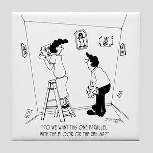 4261_painting_cartoon Tile Coaster
