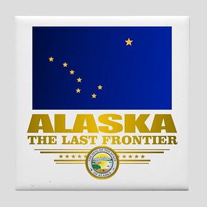 Alaska Pride Tile Coaster