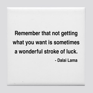 Dalai Lama 9 Tile Coaster
