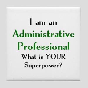 administrative professional Tile Coaster