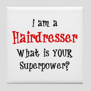 hairdresser Tile Coaster