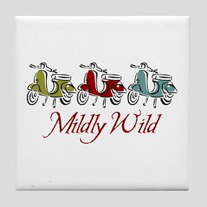 Mildly Wild Tile Coaster