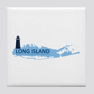 Long Island - New York. Tile Coaster