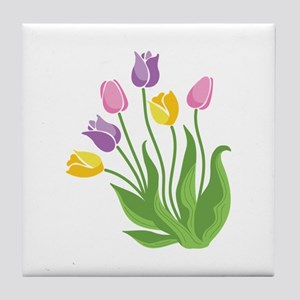Tulips Plant Tile Coaster