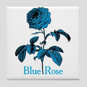 Twin Peaks Blue Rose B Tile Coaster