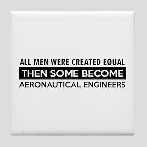 Aeronautical Engineer Designs Tile Coaster