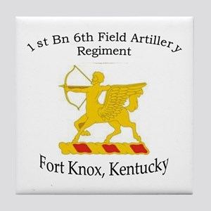 1st Bn 6th Artillery Tile Coaster