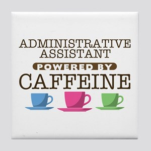 Administrative Assistant Powered by Caffeine Tile