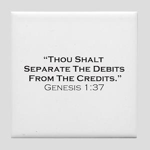 Credits / Genesis Tile Coaster