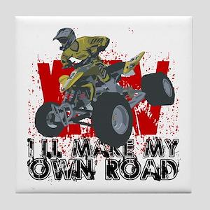 ATV My Own Road Tile Coaster
