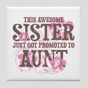 Promoted Aunt Tile Coaster