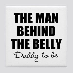 The man behind the belly | Daddy to be Tile Coaste