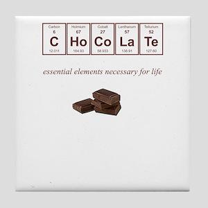 Chocolate Tile Coaster