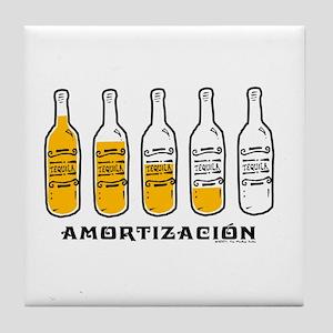 Tequila Amortización -  Tile Coaster