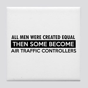 Air Traffic Controllers Designs Tile Coaster
