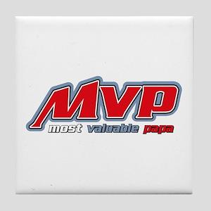 Most Valuable Papa Tile Coaster