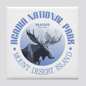Acadia National Park (moose) Tile Coaster